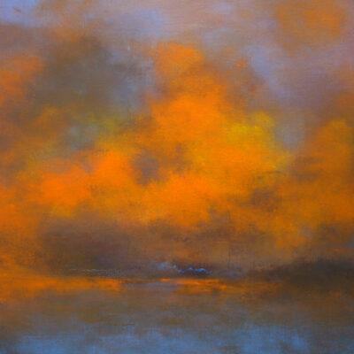 Carry van Delft - Burning Clouds