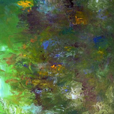 Aquatic Flower Scene