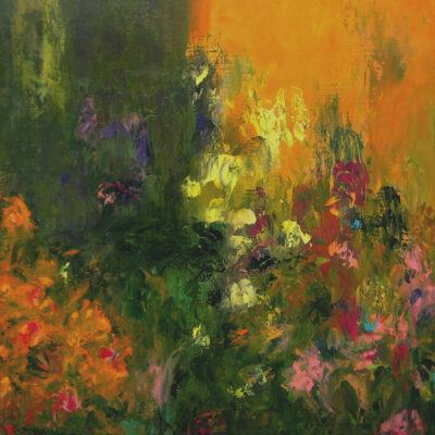 Carry van Delft - Sunrise Flower Forest
