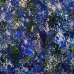 Carry van Delft - A dazzling blue garden